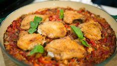 Feed your whole family with this juicy, flavorful chicken and rice bake