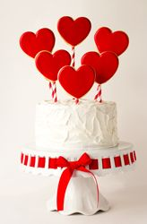 Valentine's cake or any lovely celebration