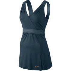 Nike Women's Wrap Knit Dress - Medium Blue / Slate Blue - Sport Chalet