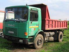 DAC 16.215 of Romania Eastern Europe, Romania, Trucks, Nostalgia, Truck