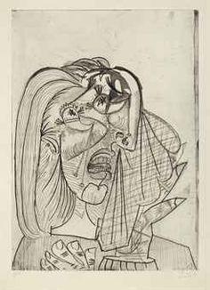 Pablo Picasso (1881-1973) La femme qui pleure, I Price realised USD 2,629,000