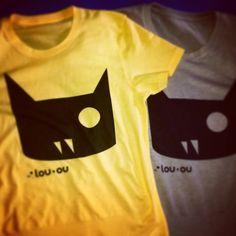T-Shirt! #tshirt #cat #catslover #chatnoir #cute #catstagram #creative #comic #caturday #cagliari #tshirt #tattoo #illustration #ink #italy #anime #draw #suicidegirls #gatto #gattonero #jj_justcats #kitten #louou #blackcat #neko #manga #trendy #fashion #moda #summer #2015 #maglia #magliette #brand #louou