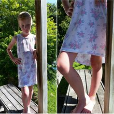 Hermione Hi-Lo Hem DIY Dress | Such a pretty dress for your little girl!