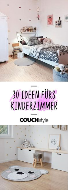 Kinderzimmer Ideen für Wohlfühl-Buden: So geht's! Furnish the children's room: We show you 30 design tips and furnishing ideas for the children's and baby room! Baby Room Boy, Baby Bedroom, Girl Room, Kids Bedroom, Child's Room, Nursery Decor, Room Decor, Nursery Ideas, Interior Design Tips