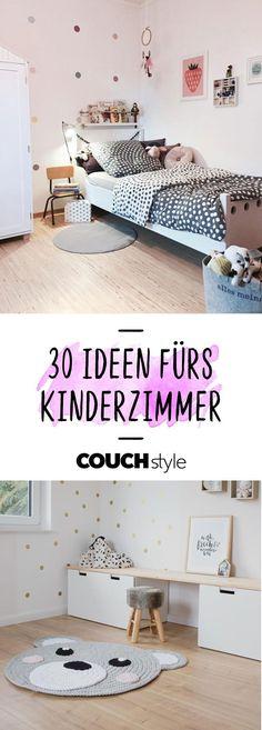 Das Kinderzimmer einrichten: Wir zeigen dir 30 Gestaltungstipps und Einrichtungsideen fürs Kinder- und Babyzimmer!