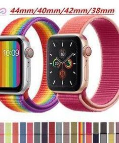 Strap For Apple Watch band apple watch 4 5 3 band Sport loop iwatch band 5 correa pulseira nylon watchband. CRESTED Sport loop Strap For Apple Watch band apple watch 4 3 5 iwatch band Apple Watch Price, Buy Apple Watch, Apple Watch Bands, Smartwatch, Android Watch, Fitness Watch, Beautiful Watches, Watch Brands, Stuff To Buy