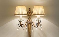 Lampy klasyczne Masiero  Primadonna A2 - Masiero - kinkiet klasyczny    #design #classic #lamp #klasyka #Abanet #oświetlenie_Kraków #Masiero