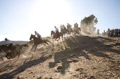 S'Ardia horse race in Sedilo