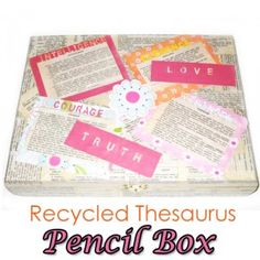 DIY Back to school pencil box. Don't forget to enter to win $250 in the #culturalcareaupair #backtoschool #contest here: www.culturalcare.com/backtoschool
