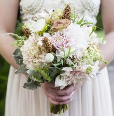 Bride's bouquet that