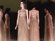 A Sky Full of Stars gown by April - Sims 3 Downloads CC Caboodle