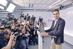 Sánchez renuncia a liderazgo del PSOE - El Universal