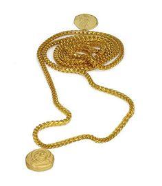 zz-Kanye West's 18K Yellow Gold Jewelry Collection. Photos Courtesy of yeezysupply.com