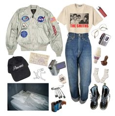 """""""88 mph"""" by hazerdazer ❤ liked on Polyvore featuring Retrò, Levi's, Benetton, Baby-G, Sony, Dr. Martens, Abercrombie & Fitch and Lomography"""