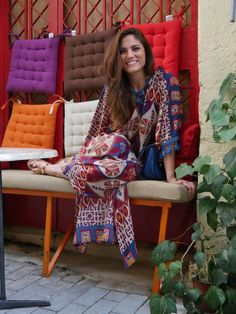 Just another by Mary Synatsaki! Ethnic Fashion, Colorful Fashion, Get The Look, Youtubers, Greek, Mary, Friday, My Style, Summer