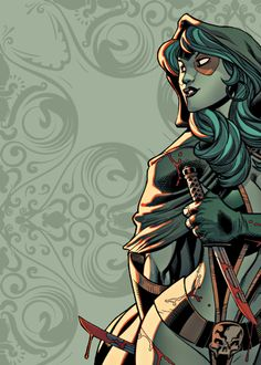Gamora. Marvel. Guardians of the Galaxy.