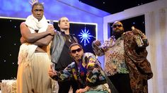 MTV presents Hip-Hop Nativity, starring Rihanna (Sasheer Zamata), Eminem (Taran Killam), Riff Raff (James Franco), Rick Ross (Kenan Thompson), Justin Bieber (Kate McKinnon), Beyoncé (Nicki Minaj) and Kanye West (Jay Pharoah).