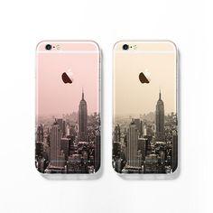 New York cityscape iPhone 6 cas iPhone 6 s cas par Darkoolart