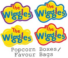 Wiggles Birthday, Wiggles Party, The Wiggles, 3rd Birthday, Birthday Parties, Party Printables, Free Printables, Lolly Bags, High Chair Banner