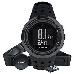 Suunto M5 Men All Black w Movestick *** Click on the image for additional details.