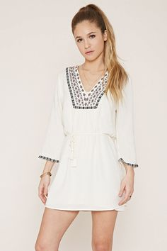 Embroidered Dress | Forever 21 - 2000186003