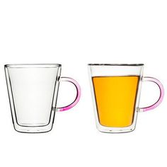 Glass Mug Duo... I cannot believe that this exists...cannot. They are so freaking graceful -- I can't even.