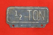 Vintage Ford 1932 Vintage License Plate Frame License Plate