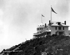 ALTADENA / ECHO MOUNTAIN:  Hotels in the Sky: Bygone Mountaintop Resorts of L.A.