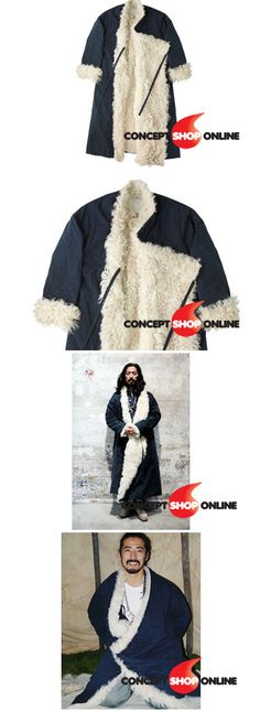 visvim lhamo sheepskin robe - Google Search