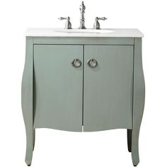 Savoy Bath Vanity (775 CAD) ❤ liked on Polyvore featuring home, home improvement and plumbing
