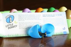 Resurrection Eggs, to teach kids about Easter