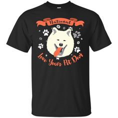 Funny Samoyed Dog T Shirt National Love Your Pet Star War Style – Vota Color