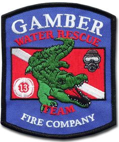 Gamber Fire Company Fire Patch #Setcom