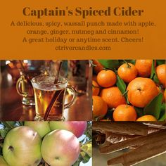 Captain's Spiced Cider Scented Soy Candles by CT River Candles  #soycandles #scentedsoycandles #madeinct #madeinamerica