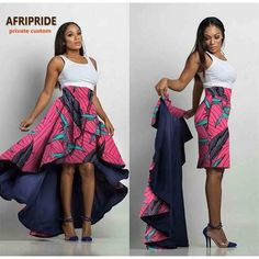 Please pay close attention to sizing measurements (if applicable), as items may run small Item Type: African Clothing Brand Name: AFRIPRIDE Color(s): Various prints Type : Skirt Private custom: Yes Pattern: Print Fabric: Wax/Batik African American Fashion, African Print Fashion, Africa Fashion, Short African Dresses, Latest African Fashion Dresses, Ankara Fashion, Short Dresses, African Print Skirt, African Print Dresses