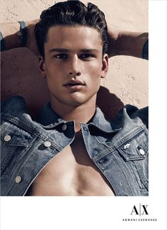 Simon Nessman, Andre Bona, Joe Collier, and Raphael Balzer for Armani Exchange