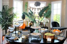 welcome-to-the-jungle-safari-jungle-birthday-party-first-birthday-party-party-decorations-diy-party-decorations-food-table-this-is-our-bliss.jpg (3082×2028)