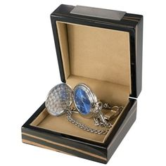 Visol Lazuli Japanese Quartz Pocket Watch with Gift Box
