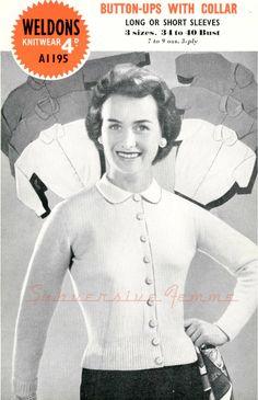 Curvy Month Pattern Three – Collared Button-Ups, circa 1950s – Subversive Femme
