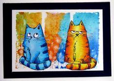 Les Piafs et les Chats russes (Saskia)