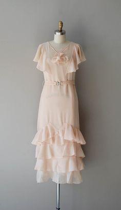 1920s dress / chiffon 20s dress / Beyond Pretty by DearGolden, $435.00
