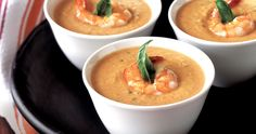 Slow Cooker Creamy Shrimp Bisque - Delightful! www.GetCrocked.com
