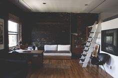 """urbnindustrial: """"Brick Loft in NY """" Like seriously. ARE YOU KIDDING. This is my dream."""