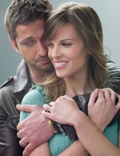 P.S. I Love You - Starring Hilary Swank and Gerard Butler.