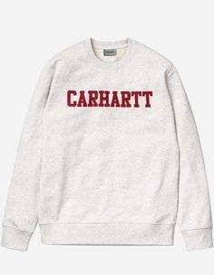Carhartt WIP - College Sweat ash heather chili