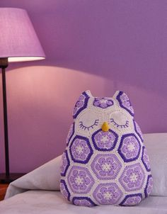 My owl Pillow (https://www.pinterest.com/nucciafo/my-crochet/)