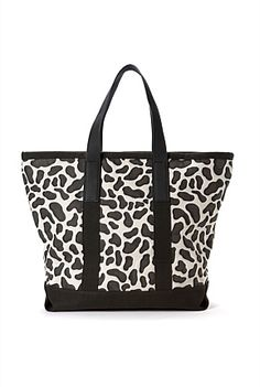 Animal Print Tote, if you have to!