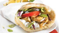 Sandwich au poulet à la grecque