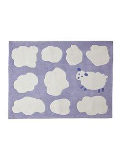 Babyteppich mit Wolken und Schäfchen  #vertbaudet #Frühjahr #Sommer #2015