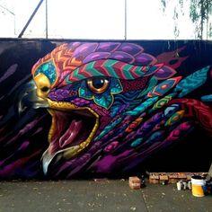 Farid Rueda Street Art in Mexico City. Farid Rueda Street Art in Mexico City. More from my site Street art Murals Street Art, 3d Street Art, Urban Street Art, Amazing Street Art, Art Mural, Street Art Graffiti, Street Artists, Graffiti Wall Art, Wall Street